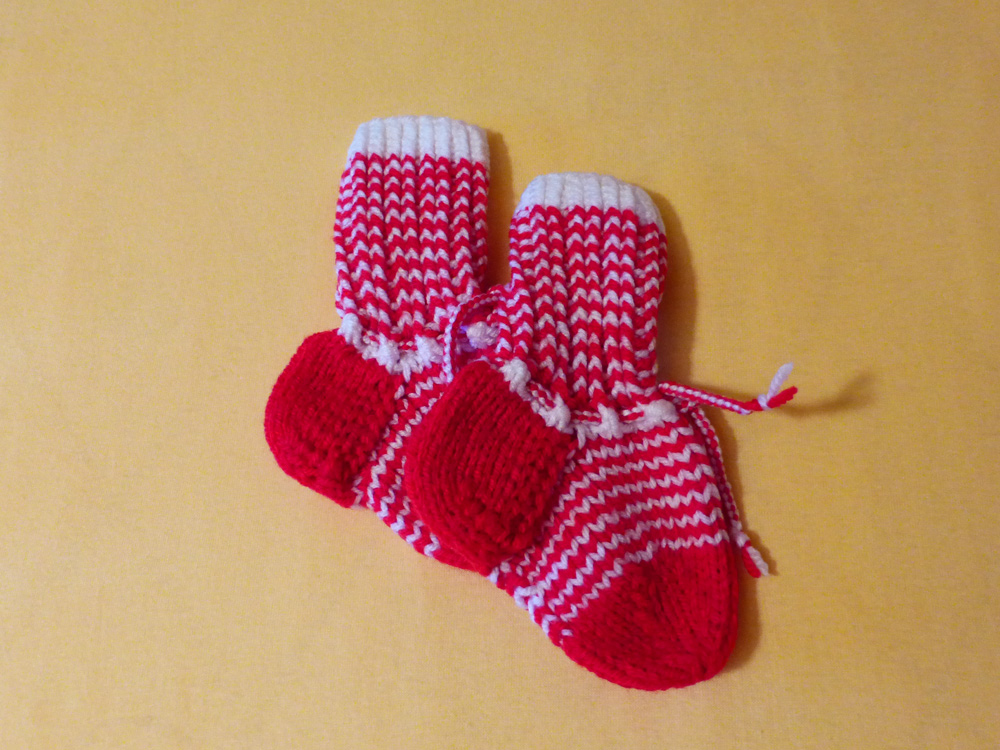 Baby, Babysocken, DIY, Stricken, Foto: Katharina Richterstetter